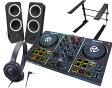 NUMARK DJコントローラーセット/PartyMix + ATH-S100 + Z200 + PCスタンド【送料無料】