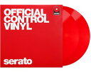 SERATO CONTROL VINYL / RED【2枚組】(レコード)