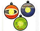 45rpm Holiday Ornaments レコードリサイクルキーホルダー(3個セット)