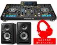 PIONEER DJコントローラー/XDJ-RX + スピーカー + 選べるヘッドホン【オリジナルUSBメモリープレゼント】【送料無料】