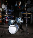 "Ludwig(ラディック)ブレイクビーツ ドラムセット LC179X023 BREAKBEATS OUTFIT AZURE BLUE AHIMIR ""?UESTLOVE"" THOMPSON 小口径,人気.."