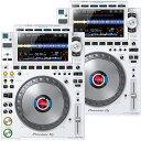 PIONEER プロフェッショナル DJマルチプレーヤー CDJ-3000-W ×2台 セット 限定ホワイトカラー