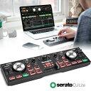 Numark コンパクト DJコントローラー DJ2GO2 Touch タッチセンシティブ ジョグホイール搭載 Serato対応
