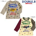 【アウトレット】【ダブルB】アメリカンヒーローズ☆長袖Tシャツ(80cm・90cm)