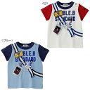 【ダブルB】ショルダーバッグプリントの半袖Tシャツ(120cm・130cm)
