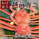 わけありガニ(小)2杯セット 福井県産越前かに(訳あり越前ガ...