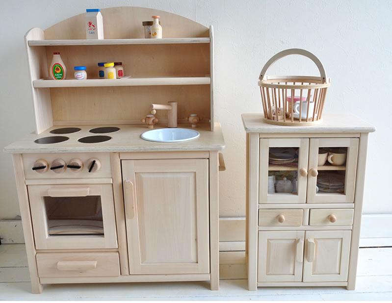 キッチン 木製キッチン : おもちゃままごとキッチン木製 ...