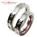 ペアリング 指輪 LOVE of DESTINY 運命の愛 絆 赤い 本物の糸 シルバーリング ローマ