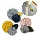 ショッピング毛糸 ブローチ レディース お花 ふんわり毛糸のブローチ KS47006 ラペルピン タックピン