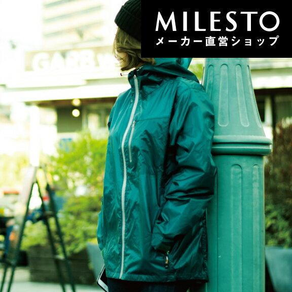 【送料無料】<MAKKU>UL レインジャケット/ミレスト MILESTO/マック/レインジャケット/レインコート