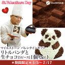 バレンタイン チョコ ケーキ 送料無料 生チョコ マイルストーンリトルパンダと生チョコ[5ピース入]1個セット【送料無料】