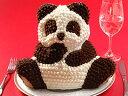 【バースデーケーキに、誕生日ケーキ、クリスマスケーキにぴったり!】マイルストーン パンダケーキ(立体ケーキ)