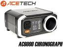 【1年間保証&日本語取説付】ACETECH AC6000 弾速計◆アルミ製測定口/サイクル測定可能/ショットメモリー機能付き/初速測定器/エーステック