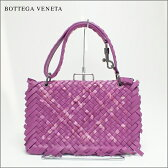 BOTTEGA VENETA ボッテガ ヴェネタイントレチャート フリンジショルダーレア パープル 紫中古 送料無料 バッグ