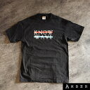 KNOW WAVE ノーウェーブLOGO T-SHIRTロゴ TシャツBLACK/ブラック サイズ:M【中古】