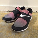NIKE ナイキFree Sockfly ナイキ フリーソックフライ724766-005ブラック スニーカー 靴【中古】【0311】【1703】