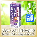 プルーンFe 1日分の鉄分 のむヨーグルト 190g x1本【雪印/メグミルク/通販】