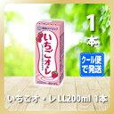 いちごオ・レ LL200ml【雪印/メグミルク/通販】
