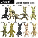 AVANTE アバンテ Stuffed Rabbit ラビット Nspec ウサギの人形 Molleシステム対応 BK MC RG AOR2 GZ MCT KH MCB AOR1 BL TYP WL サバゲ..