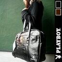 プレイボーイ 【PLAY BOY】 合皮 スクールバッグ 【ブラック】【ブラウン】通学用 ショルダーバック パスケース付き カバン