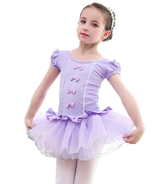 100-150子供レオタードバレエワンピース女の子レオタードバレエ演出体操発表会ダンス衣装キッズジュ