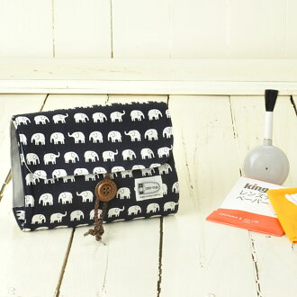Camera girl ♪ care for pretty porch and camera set / happy elephant navy