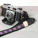 I am pretty in camera girls! Girl camera strap / Tirolean [kaleidoscope violet ]【 easy ギフ _ packing 】