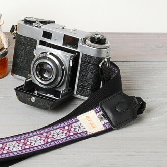 카메라 여자로 귀엽다!여자 카메라 스트랩/노르딕 퍼플