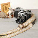 I am pretty in camera girls! Girl camera strap / race beige [free type] [easy ギフ _ packing]