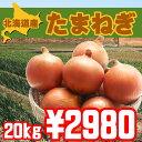 【送料無料】北海道富良野産美味しい玉ねぎ20kg【オススメ】