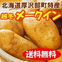 【送料無料】北海道じゃがいも「厚沢部町産越冬メークイン」Lサイズ10kg