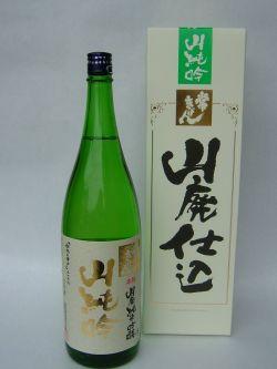 鹿野酒造/常きげん 山廃純米吟醸(山純吟) 720mlの商品画像