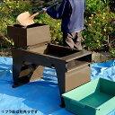 笹川農機 動力土ふるい機 《大型ホッパー+篩い網2種付》 [砂ふるい機][r12][s4-120]【返品不可】