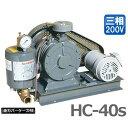 東浜 ロータリーブロアー HC-40s (3相200V0.75kWモーター付き/全カバー型) [浄化槽 ブロアー ブロワー][r21][s4-999]【返品不可】