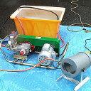 ミナト 野菜洗い機オールセット 《100V1Hp中型3連動噴+150L角型タンク付》 [r12][s4-060]