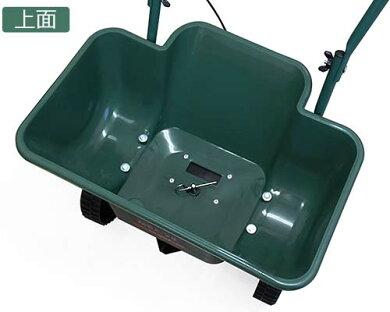 ミナト肥料散布機手押し式ブロキャスMBC-25(容量25L)[肥料散布器芝生の種まき目土融雪剤塩カル][mbc-25][r10][s50]