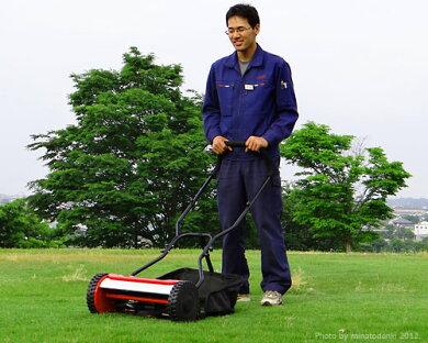 ミナト電機工業手押し式芝刈り機LMA-380