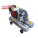 エアーテック エンジンコンプレッサー ECP-163 (5.5馬力4.1kW) [エアーコンプレッサー][r20]
