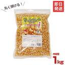 ハニー ポップコーン豆/マッシュルームタイプ 1kg [ポップコーン キャラメルポップコーン][r10][s1-120]