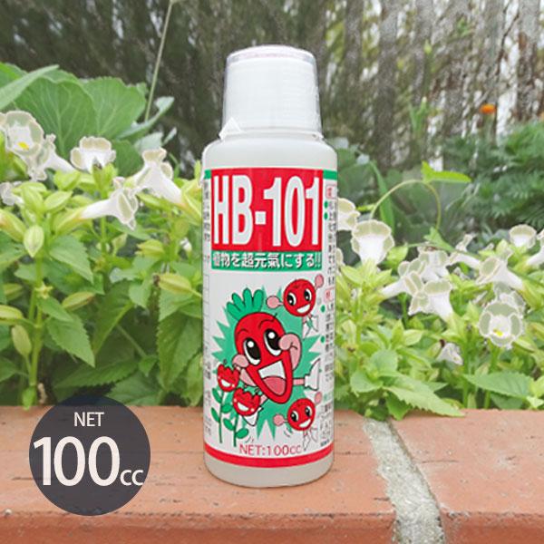 フローラ 天然活力剤 HB-101 100cc (100%天然植物エキスの活力液) [HB101 肥料 野菜作り 園芸]