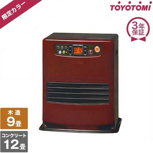 トヨトミ 石油スマートファンヒーター LC-S32F(R) (限定カラー/コンクリート12畳/木造9畳) [r10][s3-140]