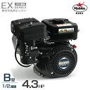 ロビン OHCガソリンエンジン EX13-2B (1/2減速型/4.3HP) 空冷4サイクル 汎用型エンジン 旧スバルEH12-2B後継機種