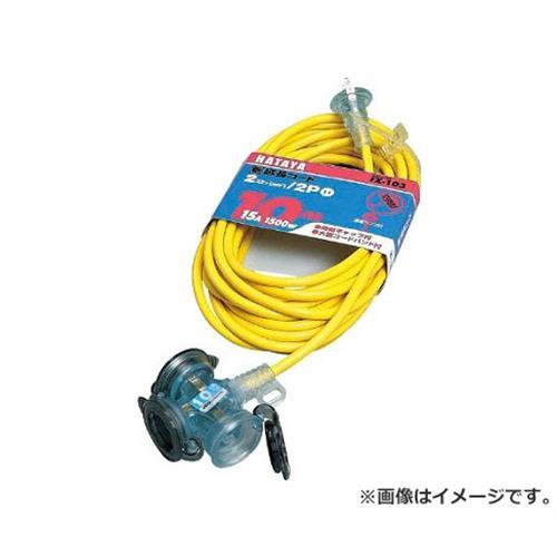 ハタヤ(HATAYA) 防雨型2P延長コード10...の商品画像