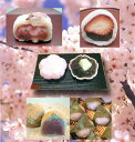 『桜と春いっぱいお試しセット』湊屋自慢の「いちご大福」「桜大福」「春色最中」「さくら餅」「草もち」1セットにまとめたセットです。
