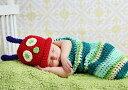 ヨーロッパ風 ベビー BABY 服 寝相 アート 着ぐるみ はらぺこ あおむし コスチューム 記念 撮影 写真 出産 お祝い 【送料無料】ctr-c72