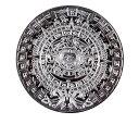 【2点セット】マヤ文明 アステカカレンダー メダル シルバー&ゴールド 【送料無料】ctr-e79