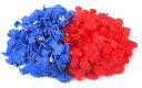 エレクトロタップ 色 青 赤 各セット サイズ 青 0.75-2.5mm 赤 0.5-1.0mm 【送料無料】mmk-j65