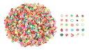 装飾 用 フルーツ 柄 スライス デコ パーツ 120g スライス棒 果物 ネイル アート カット レジン 充填 素材 手芸 材料 セット 【送料無料】mmk-o57