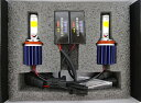 LEDフォグランプ/HIGH LUMEN POWER COB LED FOG LAMP KIT/2200lm (2800K/ゴールドイエロー) H8/H9/H11/H16(JP) 兼用