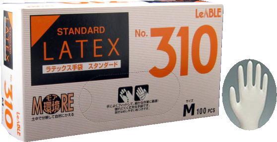 リーテックNo310ラテックススタンダード粉付M手袋(100枚入)激安ラテックス手袋キッチン用品・食